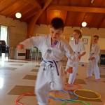 Hula hoop co-ordination training