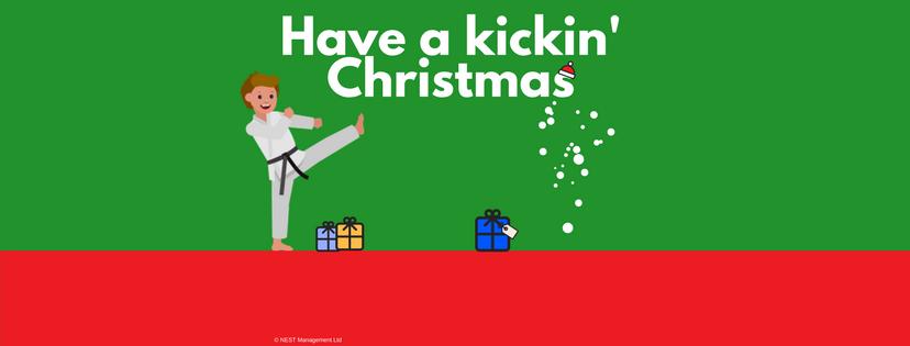 Have a kicking Christmas